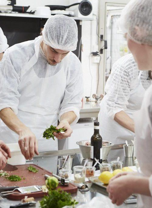 Wurstkurs mikas Zuerich Küche