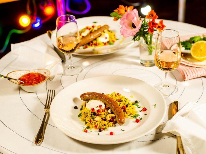 Orientalischer Reissalat mit Zwickerli